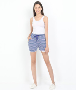 Printed Apple Cut Shorts